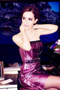 Emma Watson: Purpleicious