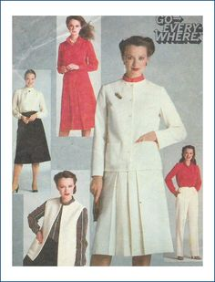 Simplicity Sewing Pattern 9717 Misses Go Everywhere Wardrobe Size 18 20 Uncut
