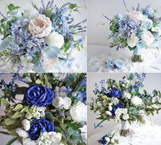 Niebieski bukiet ślubny Amelia Wedding, Blue Wedding, Wedding Flowers, Floral Wreath, Wedding Photography, Wreaths, Table Decorations, Bride, Wedding Ceremony Arch