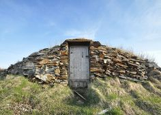 Root Cellar, Elliston, Newfoundland Newfoundland Canada, Newfoundland And Labrador, Root Cellar, Sketch A Day, Nature Paintings, Painting Inspiration, Drawing Ideas, Watercolour, Places Ive Been