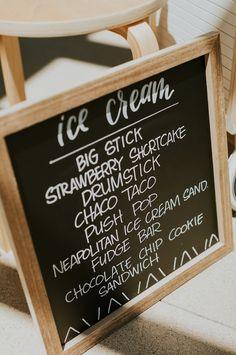 Chalkboard Ice Cream Bar Menu from a Modern Jungle Safari Birthday Party on Kara's Party Ideas | KarasPartyIdeas.com (19)