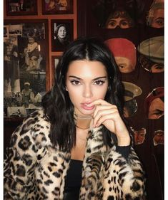 Le beauty look de Kendall Jenner sur Instagram