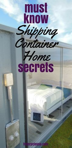 Must Know Secrets Before You Start Building A Shipping Container Home