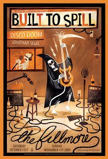 Awesome Concert Posters | Nate Wragg Art and Illustration: Built To Spill Concert Poster