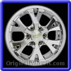 GMC Canyon 2004 Wheels & Rims Hollander #5324  #GMCCanyon #GMC #Canyon  #2004 #Wheels #Rims #Stock #Factory #Original #OEM #OE #Steel #Alloy #Used