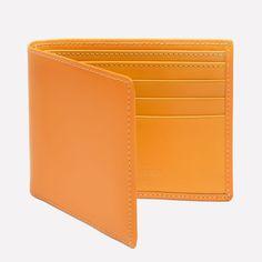Ettinger London – Luxury Leather Goods –  Billfold Wallet with 6 C/C in London Tan
