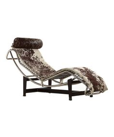 Pony Hide Chaise