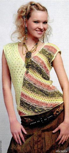 вязание, вязание для женщин, вязание спицами, вязаные топы