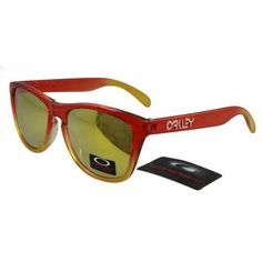 $12.99 Cheap Oakley Frogskins Sunglasses Yellow Lens Red Yellow Frames Online Deal www.racal.org Cheap Ray Bans, Cheap Ray Ban Sunglasses, Sports Sunglasses, Sunglasses Sale, Sunglasses Online, Fashion Brand, New Fashion, Oakley Frogskins, Wholesale Sunglasses