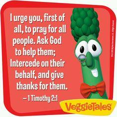 Good old veggietales!