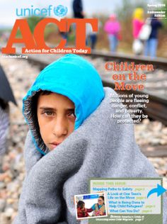Got globally-minded kids? Free student magazine examines the global refugee crisis.