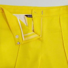 Even though these pants gave me a fit to make, the more I look at them, the more I love them!  ......... #VoguePatterns 1366 #MoodFabrics: Buttercup Yellow Stretch Wool Twill (302078) ......... #v1366 #SeeItSewItStyleIt #yellowpants #FallSewing  #ericabsewing #sewingblogger #sewingblog #sewing  #sewingwithstyle #imakemyownclothes #diystyle #diyfashion #seamstress