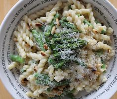 Blue Cheese Asparagus Pasta in the Pressure Cooker