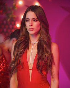 Lisa N. Hoang (LNH) custom red bodysuit for Tini worn in her music video Fresa Tini Stoessel My Girl, Cool Girl, Hollywood Records, Red Bodysuit, Gowns Of Elegance, Celebrity Couples, Celebrity News, Her Music, Celebs