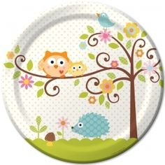 Girl Baby Shower, Owls - this website has lots of cheap shower and party supplies!