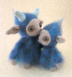 PDF of Mother and Child Spirit Amigurumi Pattern by lucyravenscar, $5.00