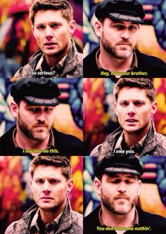Benny and Dean Supernatural -- All I really want out of season 10 is for Benny to come back.