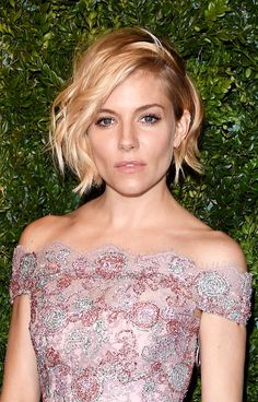 Conventional beauty wisdom would have you believe that the longer your hair, the more styling options you will have—but leave it to Sienna Miller to make every inch of her chin-length undercut count.