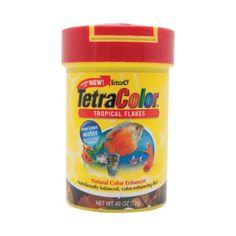 Tetra® TetraColor Tropical Fish Flakes | Flakes | PetSmart