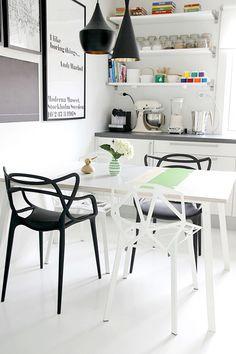 Futuristic Furniture – Masters Chair by Kartell Kitchen Interior, Kitchen Design, Kitchen Decor, Interior Exterior, Kitchen Styling, Decor Interior Design, Furniture Design, Interior Decorating, Chaise Masters