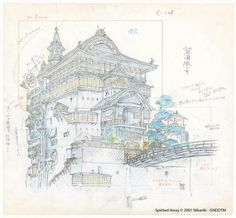 Exposition Studio Ghibli Layout Designs (Hong-Kong)