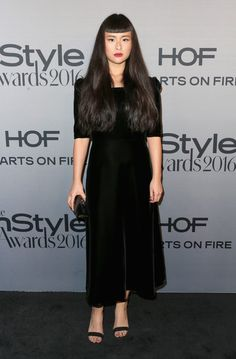 Model Asia Chow attends the 2nd Annual InStyle Awards at Getty Center on October 24, 2016 in Los Angeles, California.