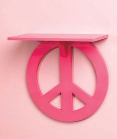Peace Sign Shelf > YES but in white or black