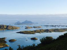 Rodoy - off route 17 on a costal route in Norway.  midnight sun. @bitzofliz