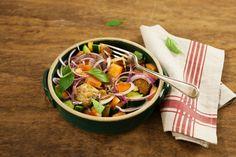 Ótima receita para reaproveitar sobras de pão e legumes da geladeira