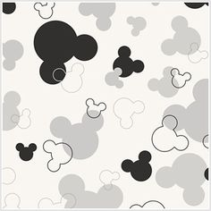 Disney Mickey Mouse Heads # 2 Cross Stitch Pattern EMAIL ONLY