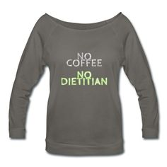 No Coffee, No Dietitian!