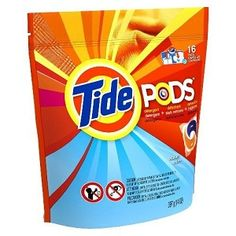 5 Packs of Tide Pods