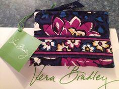 Vera Bradley Coin Purse In African Violet Retail $14 BRAND NEW FALL 14 #VeraBradley