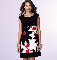 B5456 Misses' Petite Dress | Very Easy