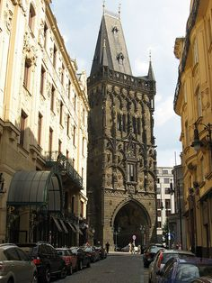 Loved spending my birthday here. would return in a heartbeat! The Powder Tower Oh The Places You'll Go, Places To Travel, Places To Visit, Visit Prague, Prague Czech Republic, Europe Photos, Rest Of The World, Best Cities, Vacation Spots