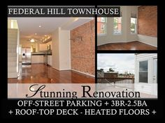 1526 LIGHT ST. - GORGEOUS 3BR-2.5BA TOWNHOUSE WITH OFF-STREET PARKING.