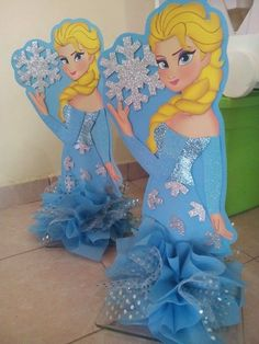 Elsa Frozen, Disney Frozen, Frozen Party Decorations, Wooden Cutouts, Birthday Centerpieces, Frozen Birthday, Birthday Parties, Baby Shower, Disney Princess