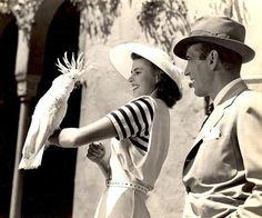 Ingrid Bergman & Humphrey Bogart