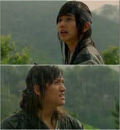 Ji Chang Wook and Yeo Seung Ho in  _Warrior Baek Dong Soo_ 2011 Dong Soo ang Yeo Woon