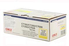 Okidata Toner Cartridge For C7000 Series OKI Laser Printers Yellow 41963001