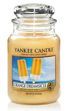 Yankee Candle Orange Dreamsicle Large Jar Candle, Food & Spice Scent