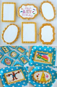 Artist biscuits