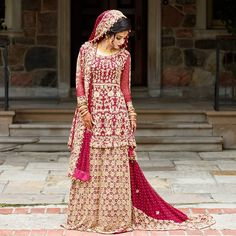 Obsessed with my wedding dress ❤ Asian Wedding Dress Pakistani, Asian Bridal Dresses, Pakistani Bridal Couture, Bridal Outfits, Bridal Lehenga, Indian Dresses, Wedding Dress Types, Wedding Gowns, Desi Wedding