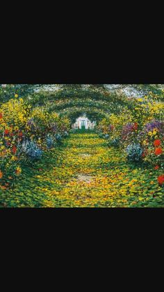 Monet and his garden