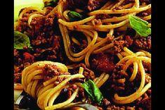 Špagety po boloňsku, jak je ještě neznáte
