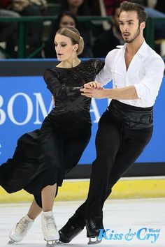 how long mastery takes, se this and....Gabriella Papadakis / Guillaume Cizeron (France)