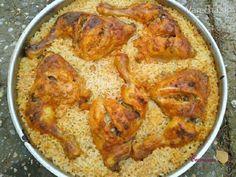 Jednoduchá, veľmi praktická príprava výborného jedla :-) Smotanová, cesnakovo-papriková marináda dá nielen mäsu, ale aj ryži fantastickú chuť.