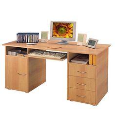 Pc eckschreibtisch  Dreams4Home Schreibtisch Pro PC Tisch Büromöbel Büroeinrichtung ...