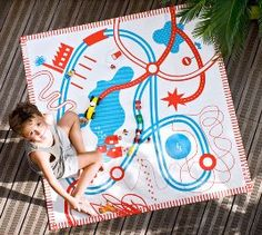 Deuz, alfombras de juegos para bebes y niños.