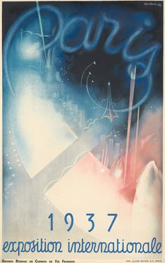 Paris 1937 / Exposition Internationale. 1936 by Eugene Beaudoin